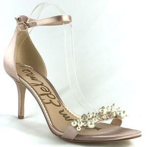 Sam Edelman Platt Embellished Sandal Heel Prom